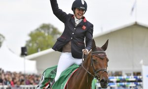 Piggy French_Badminton Horse Trials Champion