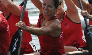 Petra Mattes_paddling-dragon boat-racing -Canada Worlds 2015